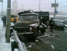 Понедельник ознаменовался всплеском ДТП по всей Украине