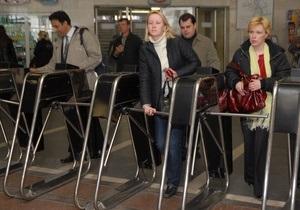 К концу года в киевском метро исчезнут жетоны