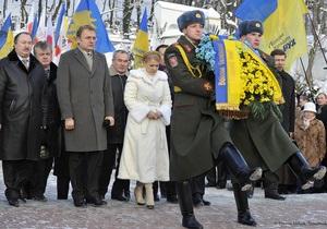 Тимошенко хотела бы быть в рядах сечевых стрельцов