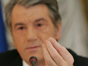 Эпидемия свиного гриппа: Ющенко обратился к Тимошенко с просьбой
