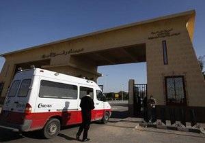 Накануне переговоров Каир предупредил премьера сектора Газа о небезопасности поездки