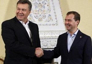 Переговоры Януковича с Медведевым и Путиным завершились