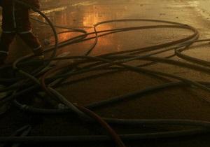 В Киеве горели склады торговой сети Фора. МЧС рассматривает версию поджога