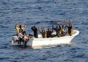 Немецкий фрегат захватил пиратское судно у берегов Сомали