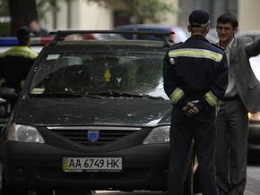 Жена и дочь главы Госавтоинспекции нарушили ПДД на 600 гривен