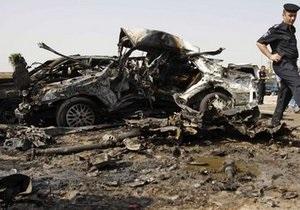 Число жертв серии терактов в Ираке достигло 56 человек