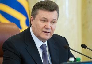 Янукович разрешил парламенту вводить эмбарго в ответ на дискриминацию Украины другими странами