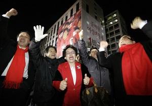 Президентом Южной Кореи впервые в истории стала женщина