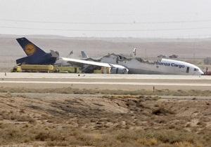 Пилоты упавшего в Эр-Рияде самолета получили незначительные травмы