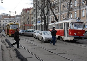 Киевские власти планируют использовать трамваи украинского производства