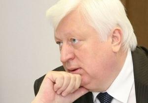 Пшонка пообещал сделать все, чтобы об Украине говорили как о современной европейской стране