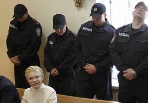 Суд над Тимошенко перенесли на 8 августа