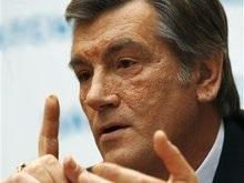 Ющенко надеется, что весной в Украину прилетит Буш