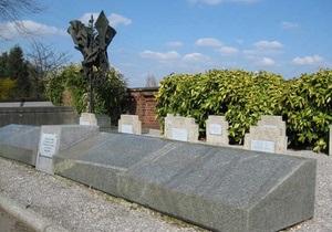 В Бельгии с кладбища украли памятник советским военнопленным