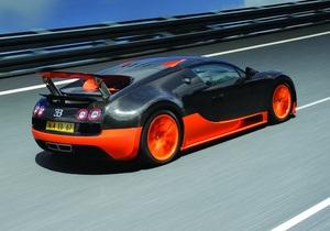 Bugatti Veyron побил мировой рекорд скорости