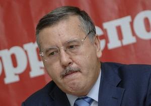 Гриценко попросил генпрокурора проверить законность предоставления чиновникам госдач