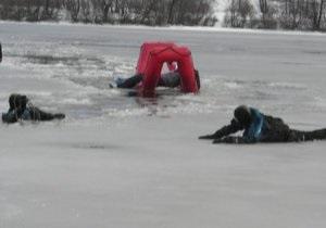 Новости Киева - В Киеве семейная пара погибла, провалившись под лед