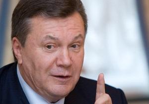 Янукович о нацпроектах: Они станут  своеобразным локомотивом  развития экономики