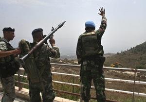 В результате перестрелки израильских и ливанских военных погибли четыре человека