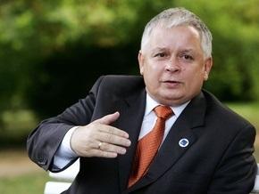 Качиньский предложил отложить строительство Одесса-Броды