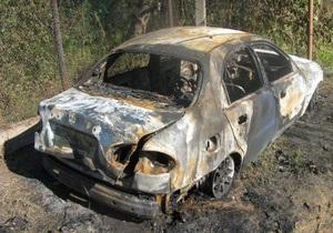 Неизвестные сожгли автомобиль лидера Комитета обороны Одессы