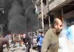 Взрыв в Дамаске: выбиты окна в посольстве России
