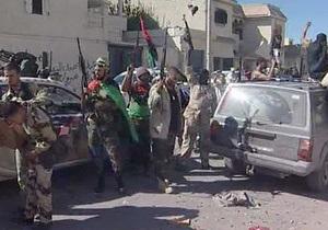Аль-Джазира: В Сирте был захвачен сын Каддафи