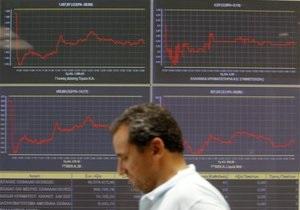 Риск девальвации гривны привел к снижению фондовых индексов