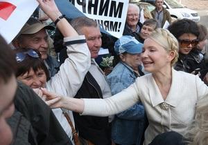 Суд объявил перерыв в рассмотрении жалобы Тимошенко