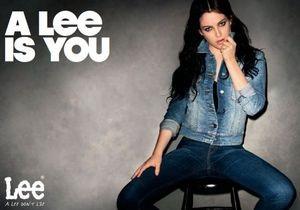 Известный фотограф снял внучку Элвиса Пресли для рекламы джинсов