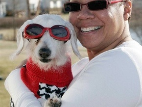 Самой старой в мире собаке исполнился 21 год