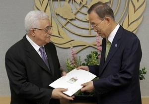 Генассамблея ООН встретила Махмуда Аббаса громом аплодисментов