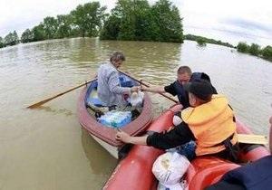 Для борьбы с наводнением Украина отправила на помощь Польше второй отряд спасателей