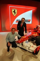 Логотип  Лаборатории Касперского  прошел  обкатку  на новом болиде Ferrari