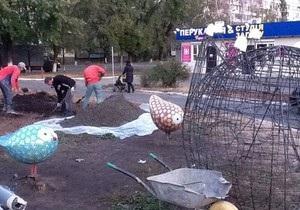 В Киеве на Лесном появится детская площадка из мозаики