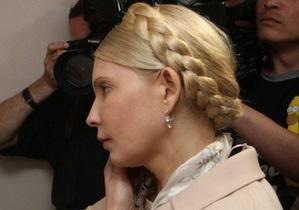 Генпрокуратура не отпустила Тимошенко в Харьков