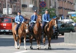 Луцк будет патрулировать конная милиция