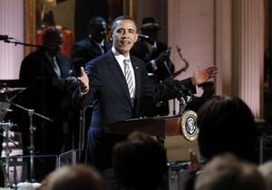 Обама спел блюз с Миком Джаггером