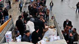В Турции разграбили помощь пострадавшим от землетрясения