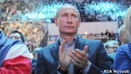 Появление Путина в Олимпийском обсуждают интернет и СМИ
