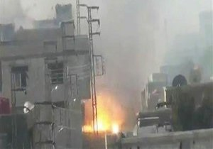 В центре Дамаска прогремел взрыв, есть жертвы