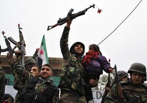 ООН: В рядах сирийских повстанцев есть дети