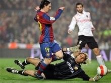 Барселона чудом спасается в родных стенах