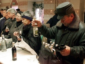 Алкоголь убивает полмиллиона россиян ежегодно