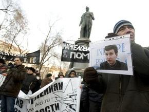 В Москве задержаны семеро участников акции в память о Маркелове и Бабуровой