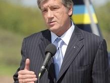 Ющенко отметил годовщину победы украинского войска в битве под Пилявцами