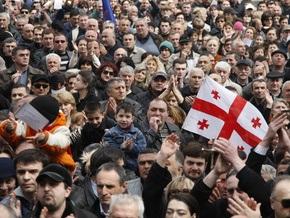 Грузинская оппозиция завтра продолжит акцию протеста