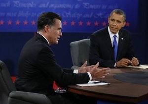Опрос: Шансы Обамы и Ромни на победу на выборах равны