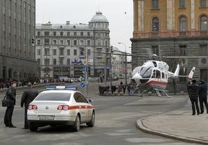 Из-за взрывов в метро в центре Москвы перекрыто движение транспорта