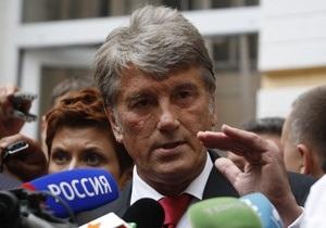 Ющенко может пойти на выборы по округу в Тернополе